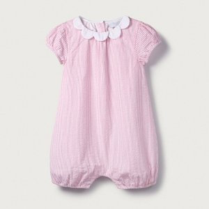 The White CompanyPetal Collared Romper | View All Baby | The White Company