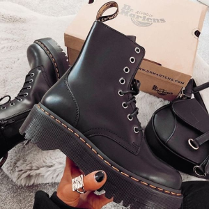 7.5折 收经典1460马丁靴Dr. Martens 新品热卖 樱桃红切尔西靴补货