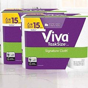 $20.64Viva 厨房纸12大卷家庭装