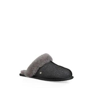 UGG(R) Scuffette II Sparkle Genuine Shearling Slipper