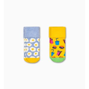 Happy Socks2-Pack Kids Brunch Terry Socks