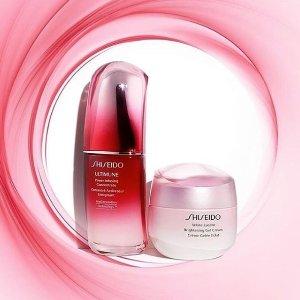 满额送正装卸妆油Shiseido官网 满额送好礼 收红腰子,百优系列