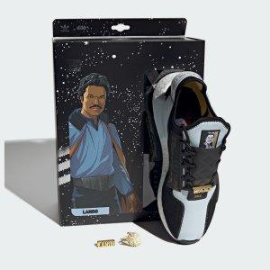 $35起+包邮预告:adidas Starwars 系列 Lando 和 Leia 公主的新款运动鞋上新