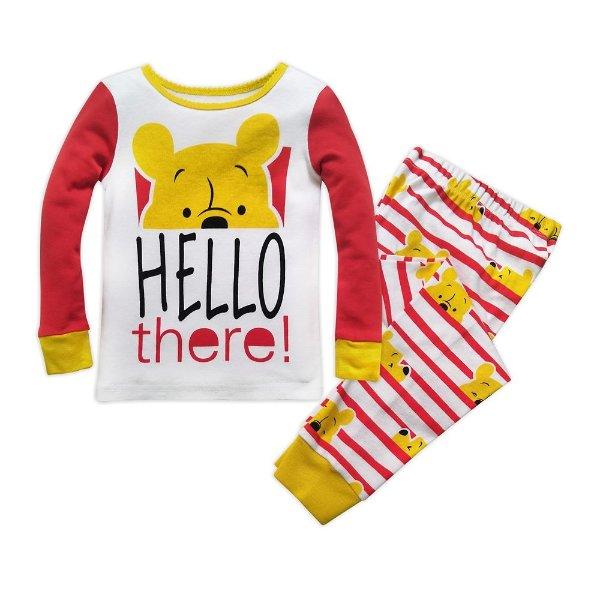 Winnie the Pooh 女童家居服套装