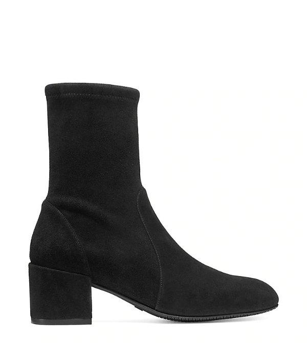 ODETTA 50 麂皮踝靴
