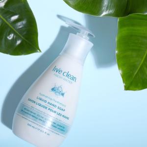 $3.77(原价$4.99)Live Clean 清新保湿洗手液 500ml 天然成分认证