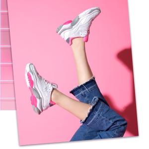低至4折+额外9折ASH 平价好穿老爹鞋大促 增高显腿长性价比超高