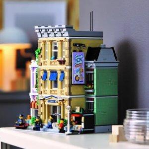1月1日发售 €179.99超复古LEGO Creator Expert系列将迎来3层楼警察局 细节控不得不入