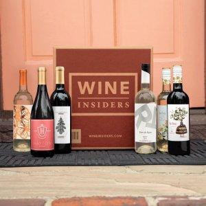 低至5.3折+全场额外7折独家:Wine Insiders 白、红葡萄酒热卖,桃红汽泡款仅$7