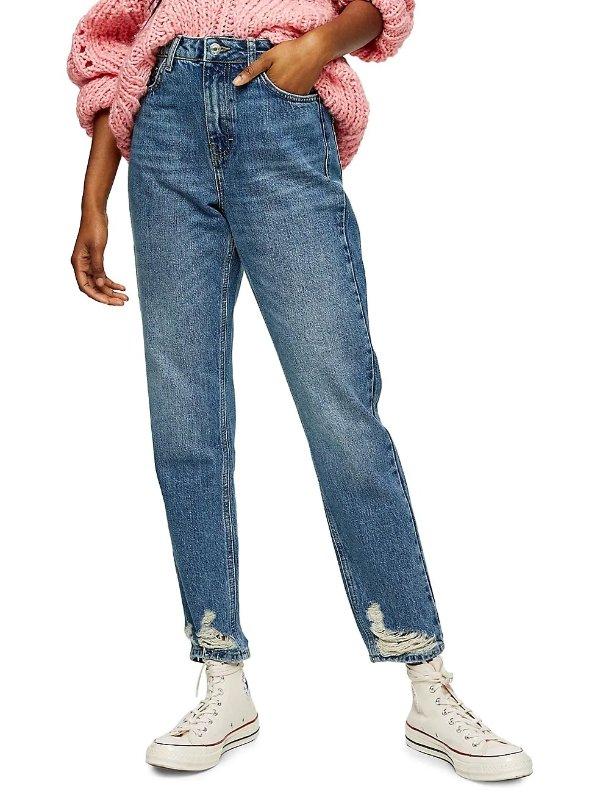 Mom Jeans 牛仔裤
