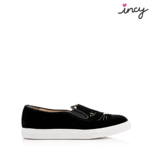 Charlotte OlympiaDesigner and Luxury Sneakers for Women |- INCY COOL CATS