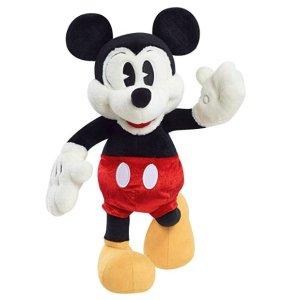 """$3.99起+包邮 封面款15""""玩偶$13.29限今天:精选Disney 儿童服饰、玩具、床品等限时大促"""