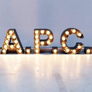 7折起+叠7.5折!€66就收logo卫衣A.P.C 大促专场 巴黎小众设计师包包 收爆款半月包、Sacai联名