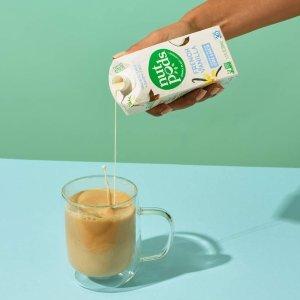 $14.2 + 包邮 美亚销量第一nutpods 杏仁+椰子奶精 无糖法式香草口味 4盒装