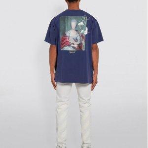 Off-White油画T恤