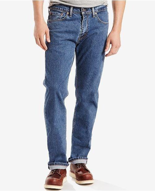 男士505牛仔裤