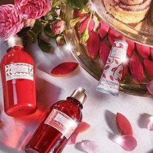 L'Occitane价值$39.5 含香水皂50g玫瑰套装