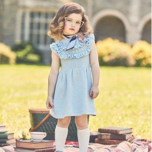 4折起+免邮即将截止:Janie And Jack女童连衣裙特卖 超多新款加入