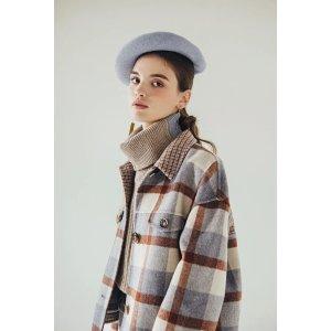 Petite StudioStockholm Wool Jacket - Blue