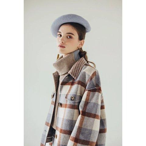 Stockholm羊毛夹克 - Blue