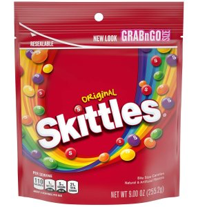 $2.08Skittles Original Candy, 9 Ounce Bag