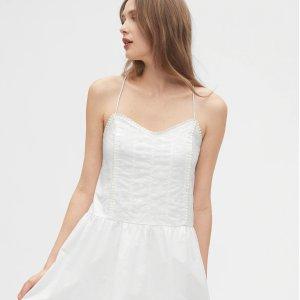 额外5折Gap 折扣区美衣热卖,小白裙$10,牛仔裤$12