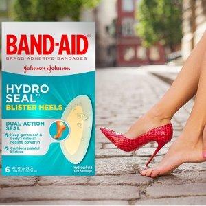 $5.97(Shoppers$7.49)Band-Aid 足跟创可贴6片 胶体100%防水防菌 新鞋伤害debuff