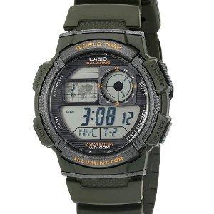 Lowest Price $4Casio Men's '10-Year Battery' Quartz Resin Watch