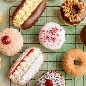 $9.9(原价$23.7)墨尔本Walker's Doughnuts 甜甜圈咖啡套餐团购