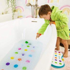 $10.8 (原价$18)Munchkin Dandy Dots 儿童浴室防滑垫
