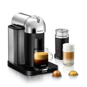 NespressoNespresso® by Breville® VertuoLine Coffee and Espresso Maker Bundle with Aeroccino Frother