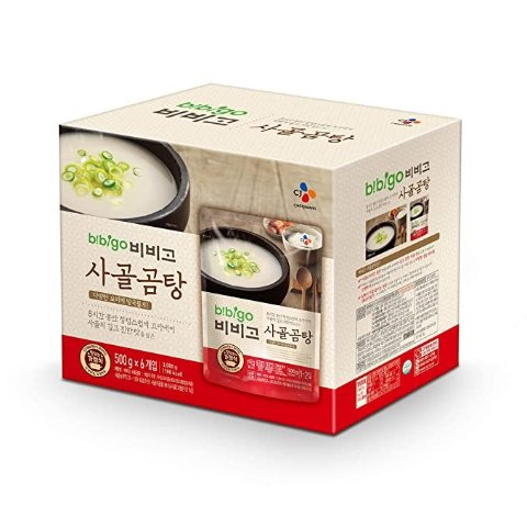 Korean Beef Bone Broth Soup, Ready-to-Eat, 17.7 Ounce (6-Pack)