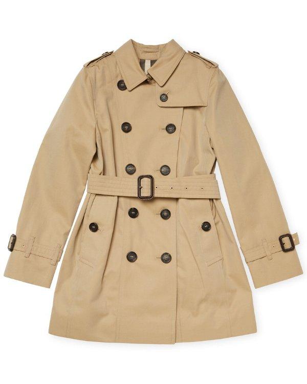 Buttoned 风衣外套