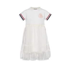 MonclerMoncler - Little Girl's & Girl's Sporty Tulle Dress