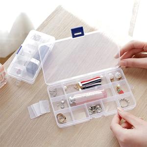 5个一套仅€9.99 原价€16.99Tatuer 分格收纳盒 轻松收纳首饰、药丸 可自由调整空格