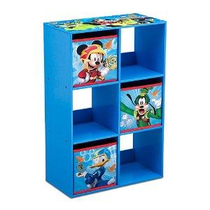 DELTADelta Children Mickey Cubby Storage Unit
