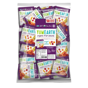 $13.16YumEarth Organic Fruit Snacks, 35 Ounce Total 50 packs