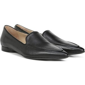 Naturalizer.com |Haines in Black Leather Flats