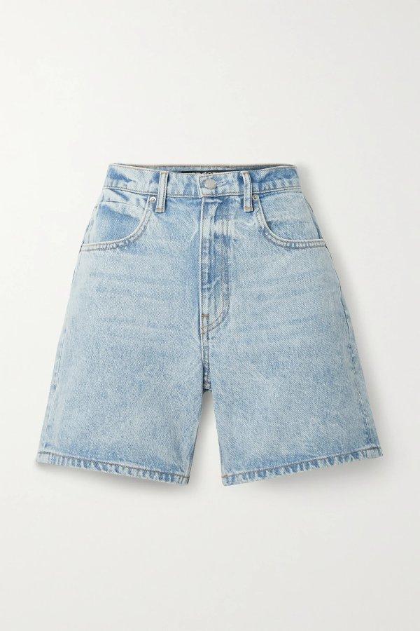 Denim 短裤