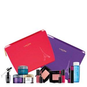 Free 5-7-Pc. Gift Setwith any $50 Lancome Beauty @ macy.com