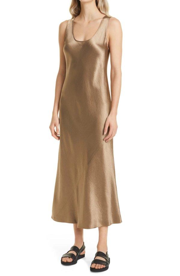 Satin 连衣裙