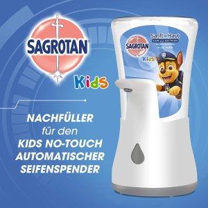 特价仅€6.95 免接触更卫生Sagrotan 免接触洗手机 汪汪队联名 养成小朋友勤洗手好习惯