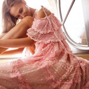 正价8.5折 折扣区3折起Love Shake Fancy 英式古典风美人裙促销