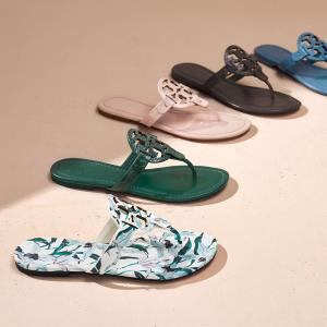 低至6折 Logo钱包$151Tory Burch 美鞋美包热卖 $164收logo芭蕾鞋