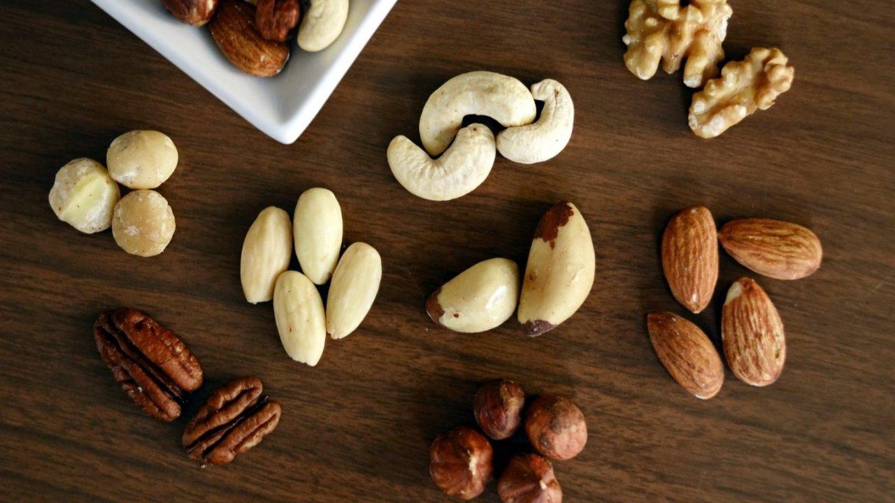 健康与美味完美融合的七种坚果盘点 | 常见坚果食谱+中英文对照