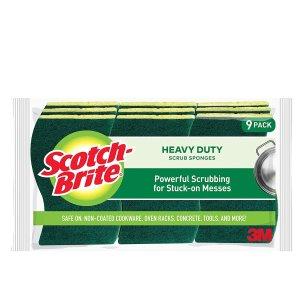 $2.82起 9块清洁海绵仅$6.4Scotch-Brite 多款清洁海绵促销