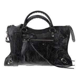 BalenciagaBlack Leather City S Bag