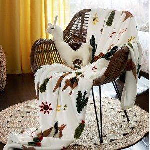 130 x 180 cm沙漠骆驼绒毯