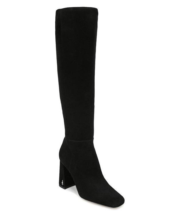 Women's Clarem 方头高跟靴