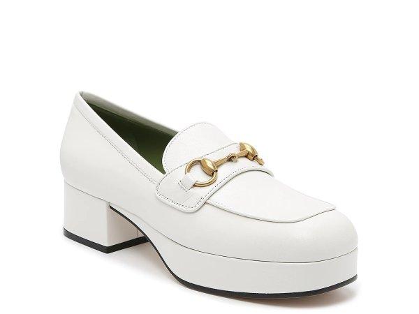 女士厚底乐福鞋 6码